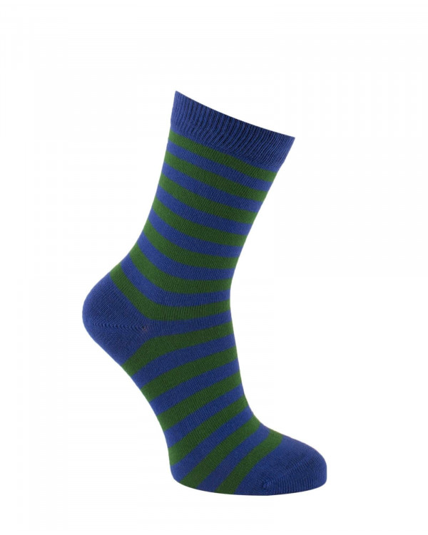 Chaussettes rayures fines