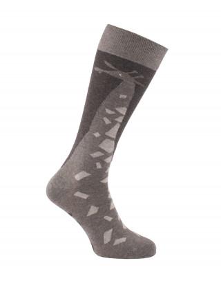 Chaussettes d'équitation Girafes Gris