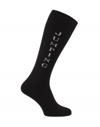 Black Jumping riding socks