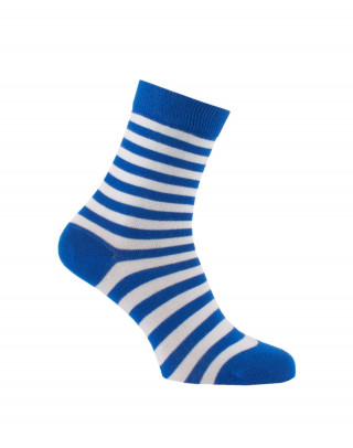 Blue thin stripes socks
