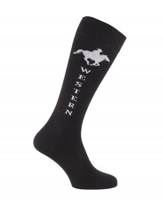 Western knee socks