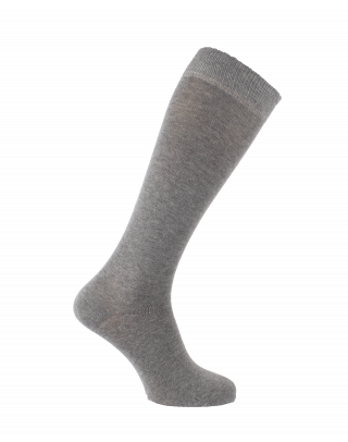 Plain cotton riding socks