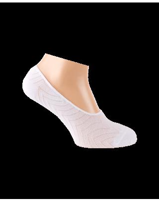Chaussettes invisibles blanches pour l'été