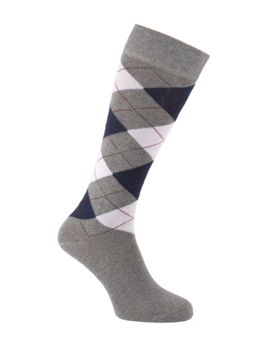 Pop argyle knee high socks 37/40 or 4/6,5