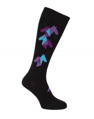 Herd riding socks