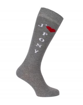 I love Pony riding socks
