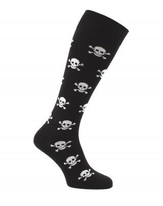 Skull riding socks