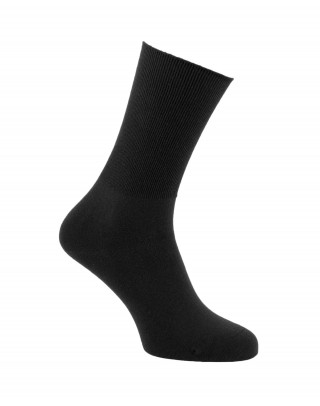 Non-binding cotton socks