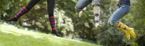 Chaussettes d'équitation écossaises
